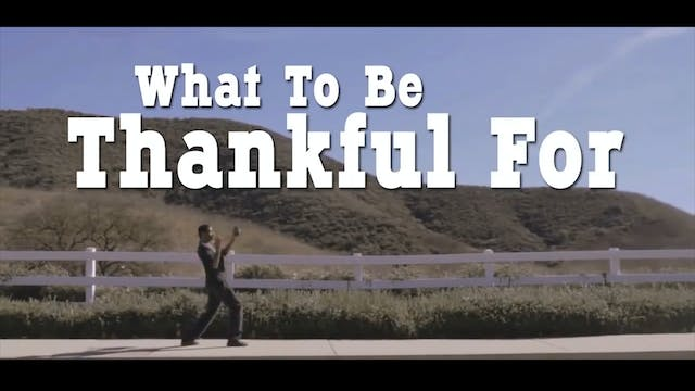 10 Reasons To Be Thankful