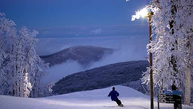On the Map - Wintergreen Resort - Episode 1: Skiing in the Blue Ridge