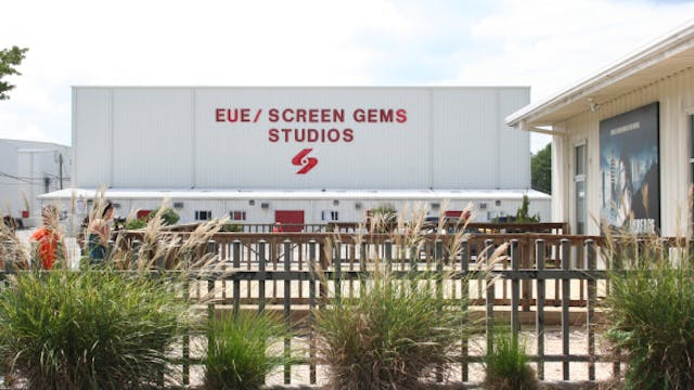 Tour of EUE Screen Gems Studios in Wi...