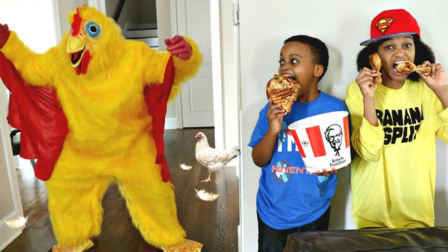 Crazy Chicken On The Loose!