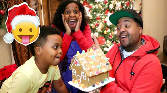 Gingerbread House Surprise!