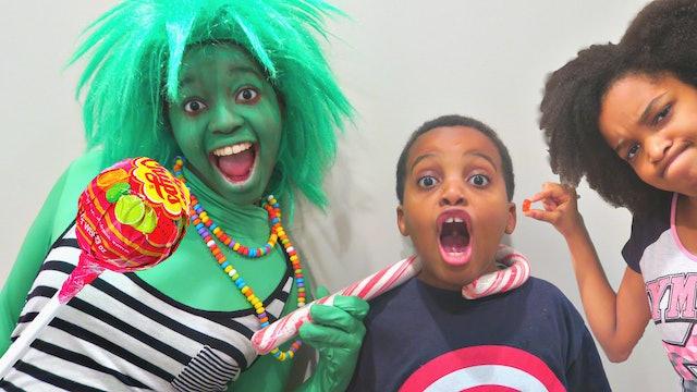 Green Candy Troll!