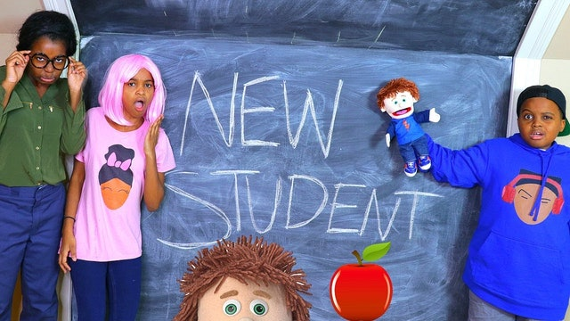 New Student At School!
