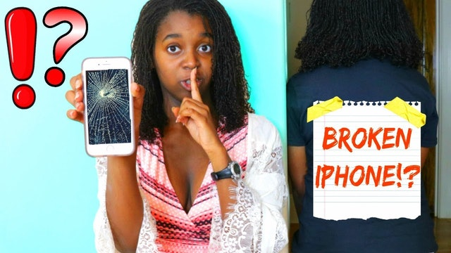 I Broke My Sister's Phone!