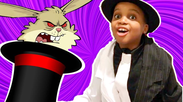 Evil Magic Bunny Attacks!