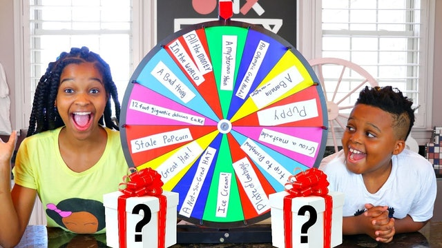 Mystery Wheel Of Surprises Switch Up Challenge!