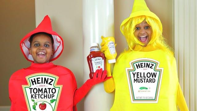Ketchup vs Mustard