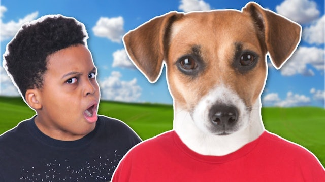 Dad Turns Into A Dog!