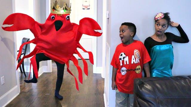 King Crab Attacks Mermaid!