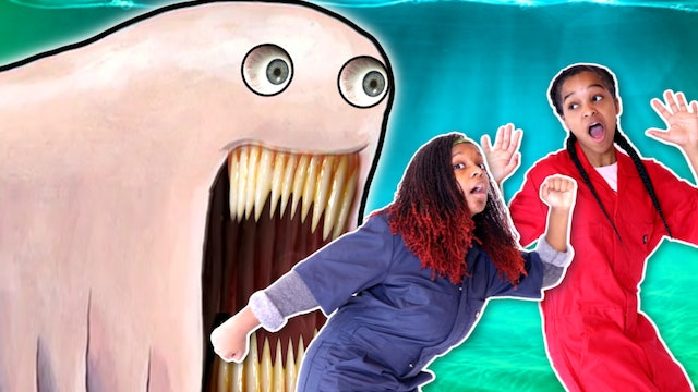 Giant Worm Tries To EAT Us