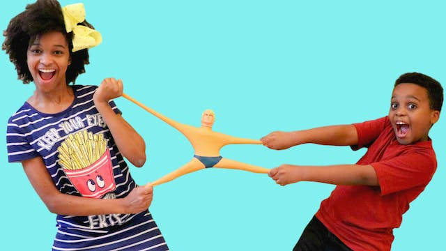 The Stretch Armstrong Quest