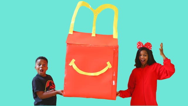 The Giant Happy Meal Mission!