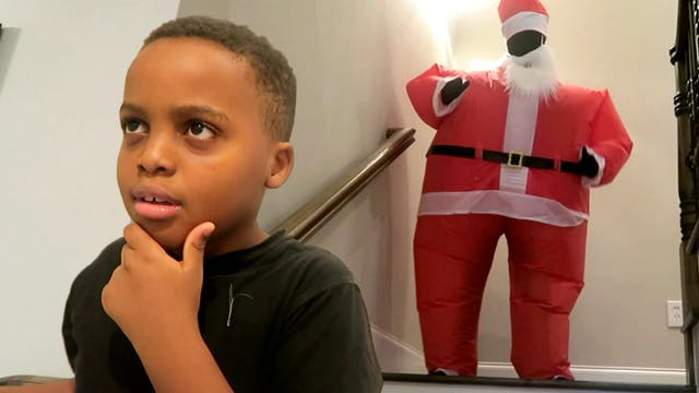 Santa Claus Attacks Part 1!
