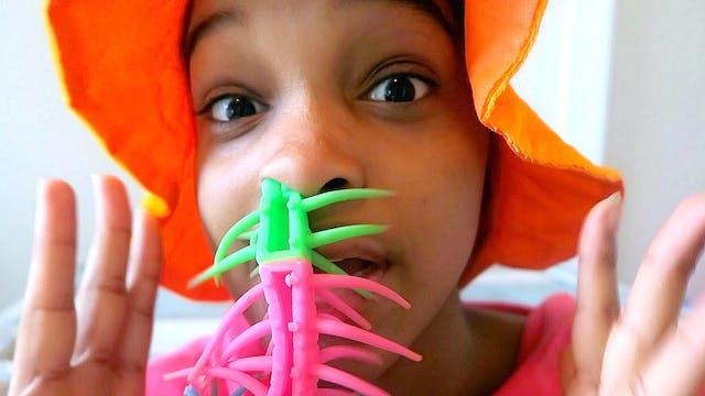 Centipede In Shasha's Nose?