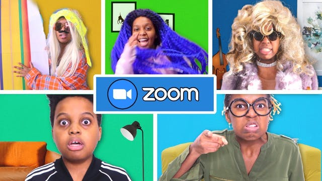 Homeschool Zoom Fail