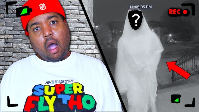 Mysterious Man Caught on Camera!