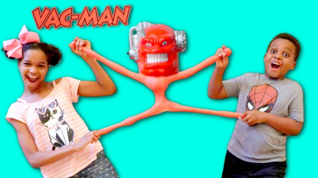 Giant Vac Man ATTACKS
