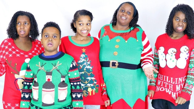 Christmas Sweater Surprise From Grandma!