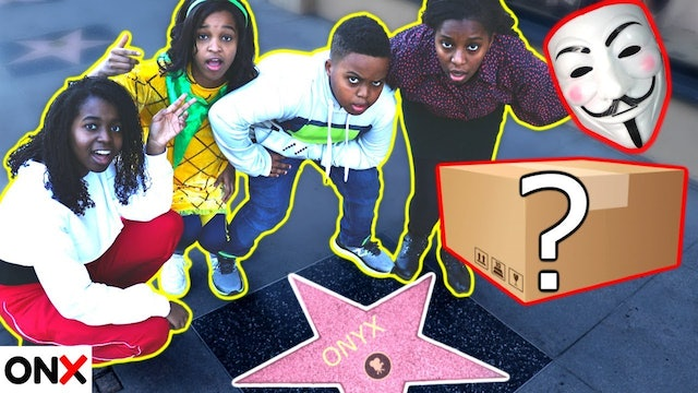 Finding A Mysterious Package in Hollywood!