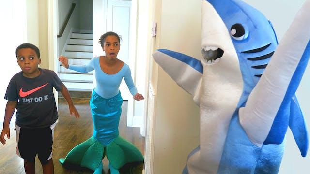 Shark Attacks Mermaid!