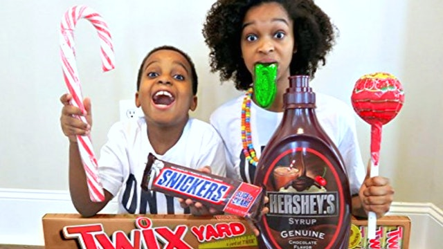 Candy Video Game Dare!