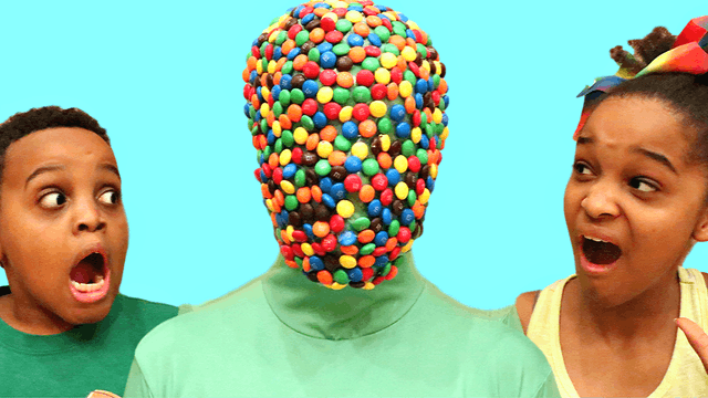 Candy Face Monster!