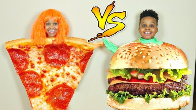Pizza vs Burgers?