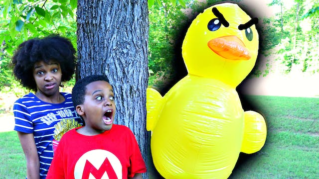 Giant Rubber Duck Attacks!