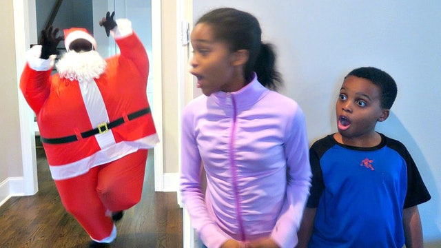 Christmas Present Explosion!
