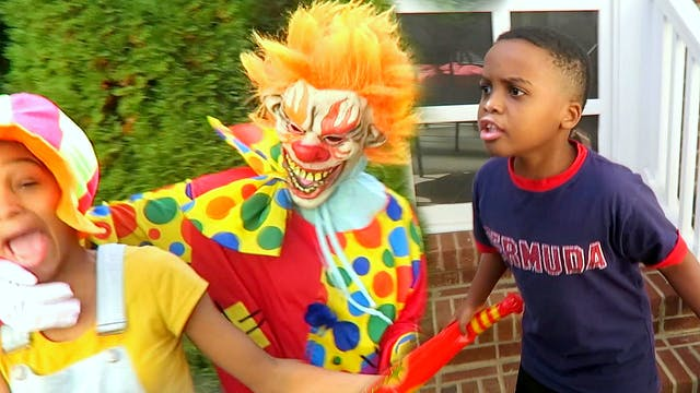 Scary Clown Attacked Us?
