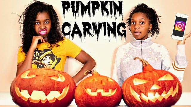 We Can't Carve Pumpkins!