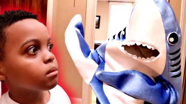 Giant Shark Attack!