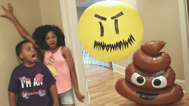 Balloon vs Poop Emoji Rap Battle