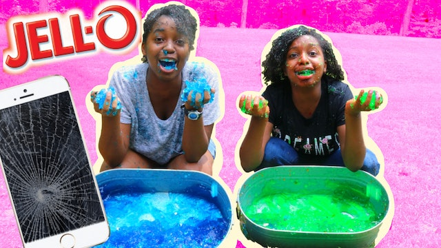 iPhone In Jello Prank!