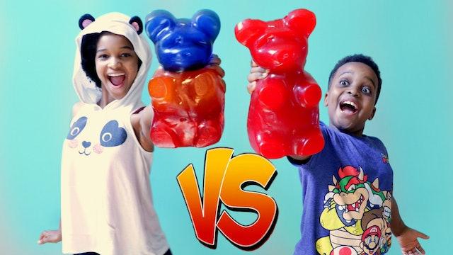 Giant Gummy Bears Attack Shiloh!