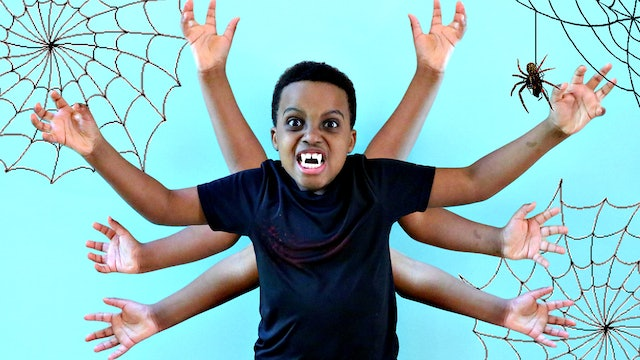 Shiloh Turns Into A Spider!