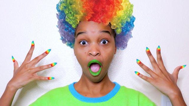 Shasha's Rainbow Makeover!