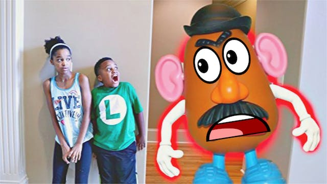 Trapping Mr. Potato Head Toy!