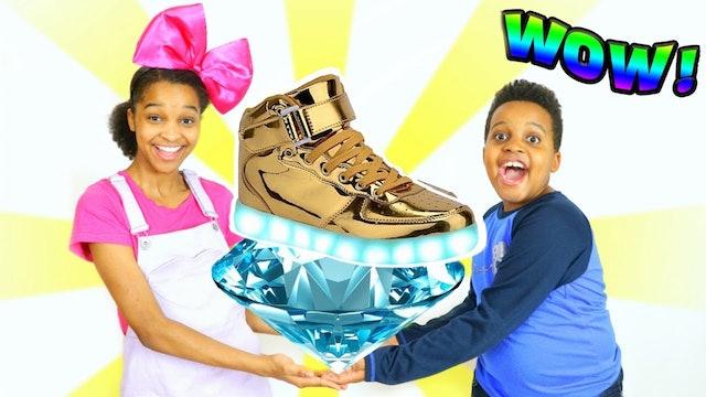 1 Million Dollar Shoe!