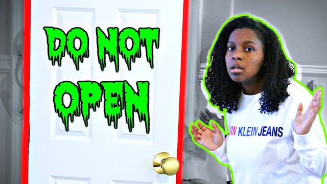 Do Not Open The Door At Night!