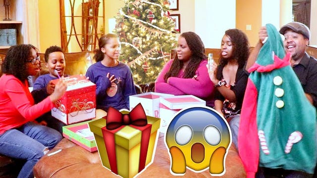 Huge Christamas Gift Surprises!
