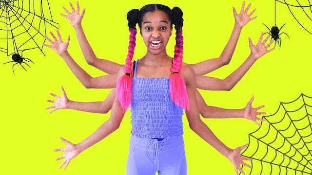 Shasha TURNS INTO A SPIDER!