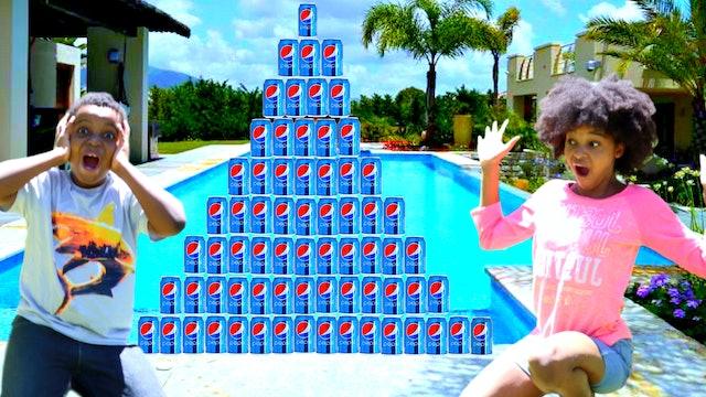 The Amazing Soda Can Challenge!