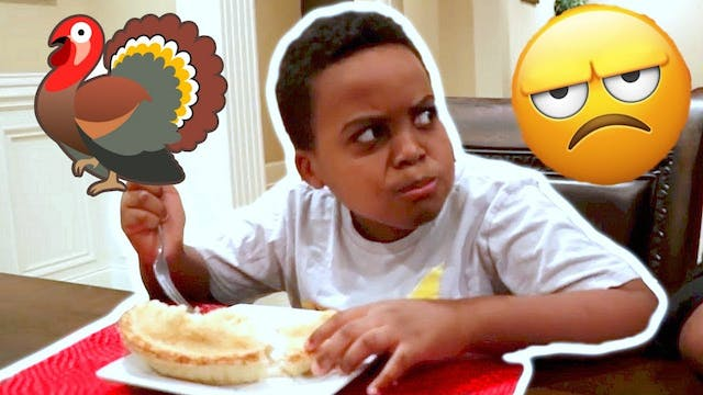 He Ruined Thanksgiving!