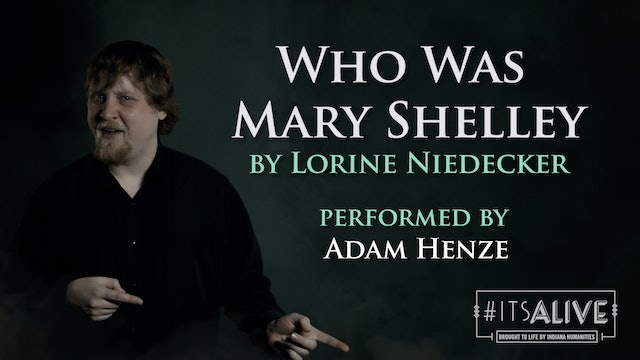 Who Was Mary Shelley