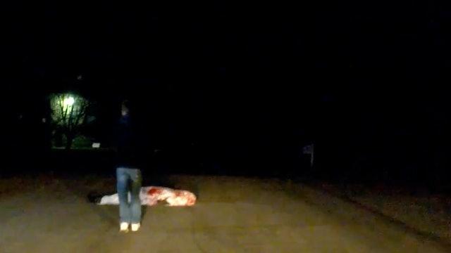 Dead Man in the Road