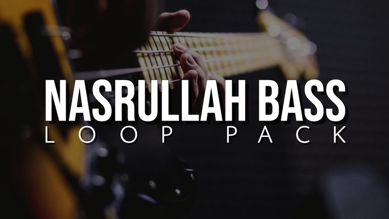 Nasrulah Bass Loop Pack