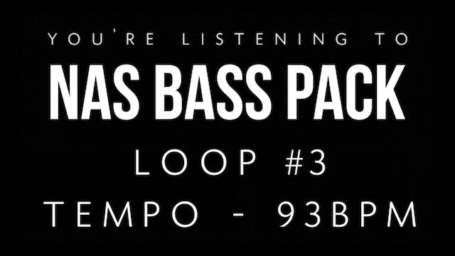 Nasrulah Bass Pack - Loop 3