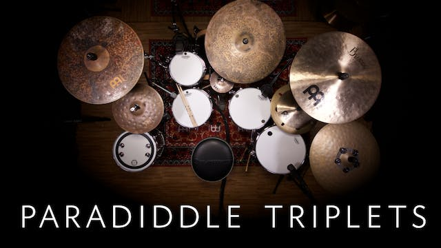 Paradiddle Triplets | Single Lesson