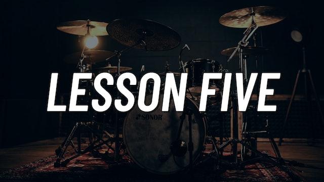 Drum Set Control Boot Camp | Lesson 5